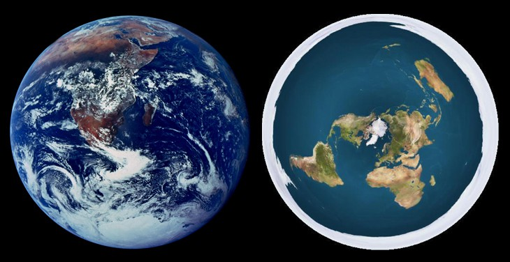 Flat Earth Overview; 50 Points