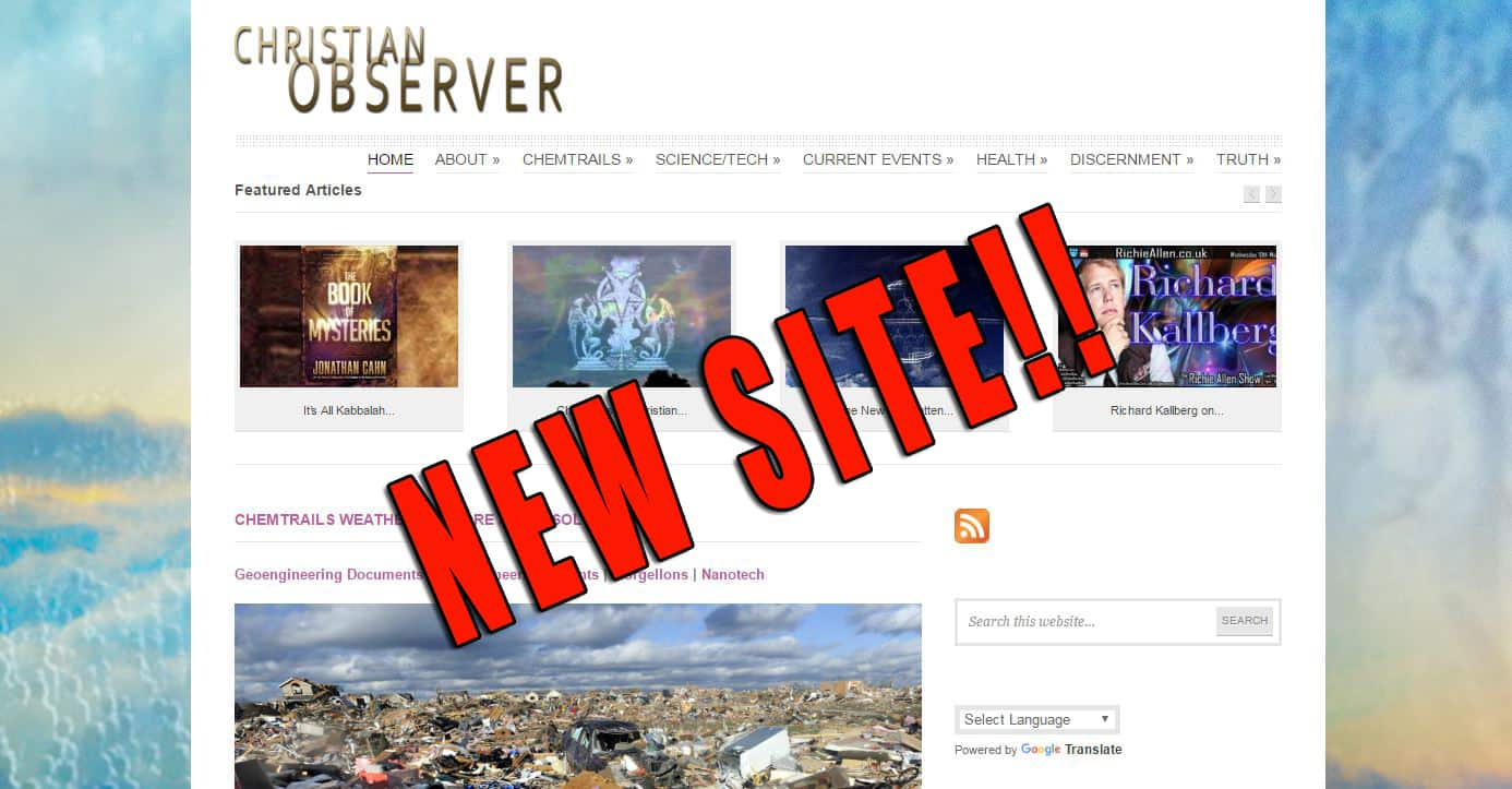 WELCOME TO CHRISTIAN OBSERVER!