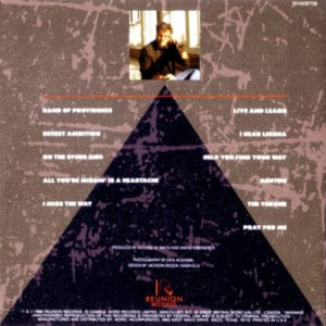 (Pyramid on back cover of Smith album)