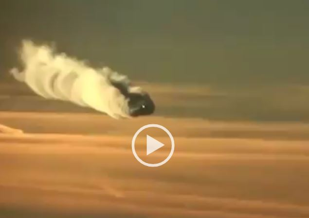 Video Of Spraying Jet Goes Viral