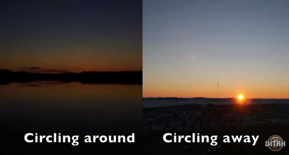Does the midnight sun in Antarctica disprove FLAT EARTH?