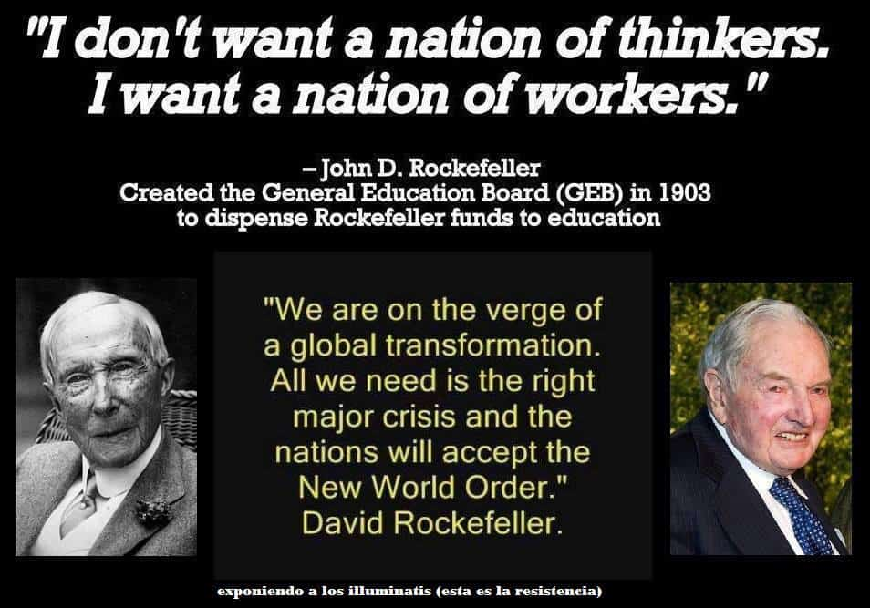 Wake up to the Rockefeller movie of political reality Jul 24