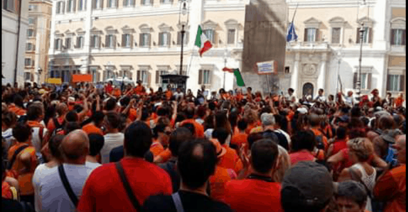 Millions of People Take to the Streets in Italy and France to Protest Mandatory Vaccines