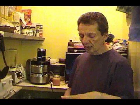 Tony Pantalleresco Video Part 2 of 2! Mixing Grapefruit, Ginger and Onion