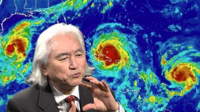 "Michio Kaku Describes how ""Trillion Watt Lasers"" Can Modify The Weather in CBS Interview"
