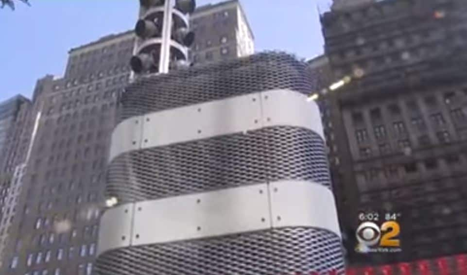 Mysterious Metal Towers Popping Up Across New York City