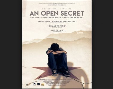 AN OPEN SECRET – CHILD ABUSE IN HOLLYWOOD – LIMITED VIEWING!