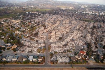 California Fires – DEW – Directed Energy Weapons