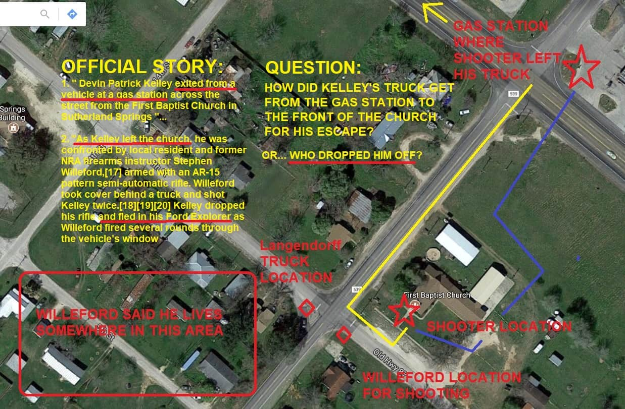 There is Something Very Wrong with Official Story of the Sutherland Springs ChurchShooting
