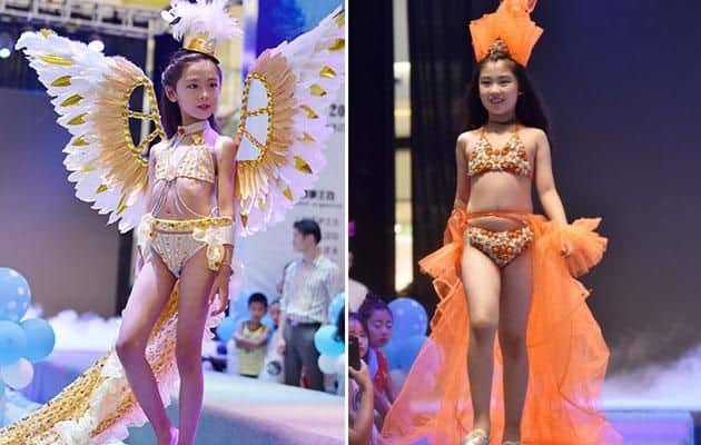 Victoria's Secret Style Show Debuts 5-year Old Girls as Lingerie Models