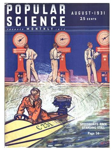 """Popular Science 1931: First Man in """"Space"""" Reports a Flat Disk   The Enormity of the Globe Deception"""