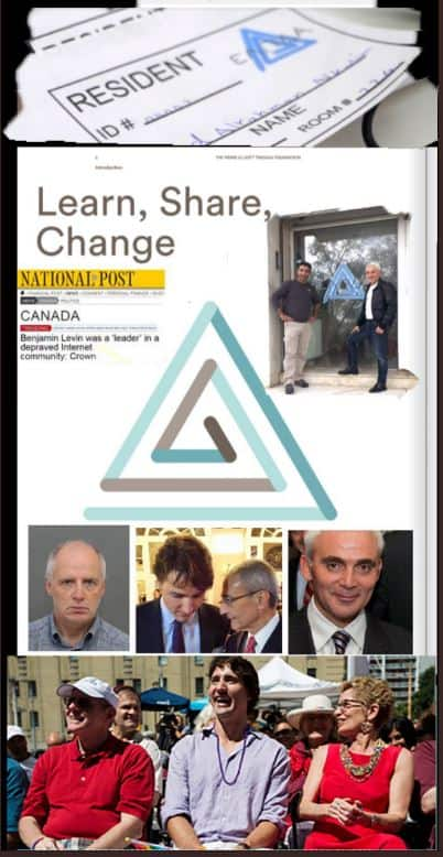 Pedophile Symbol on Cover of Trudeau Foundation Annual Report