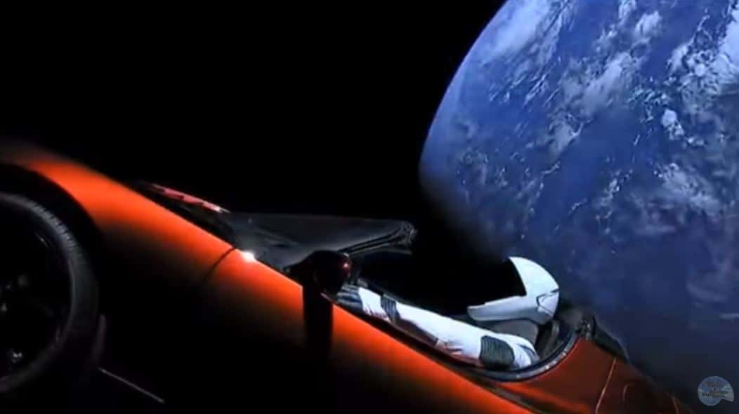The Tesla Roadster Should Be Melting… [SPACE IS FAKE]