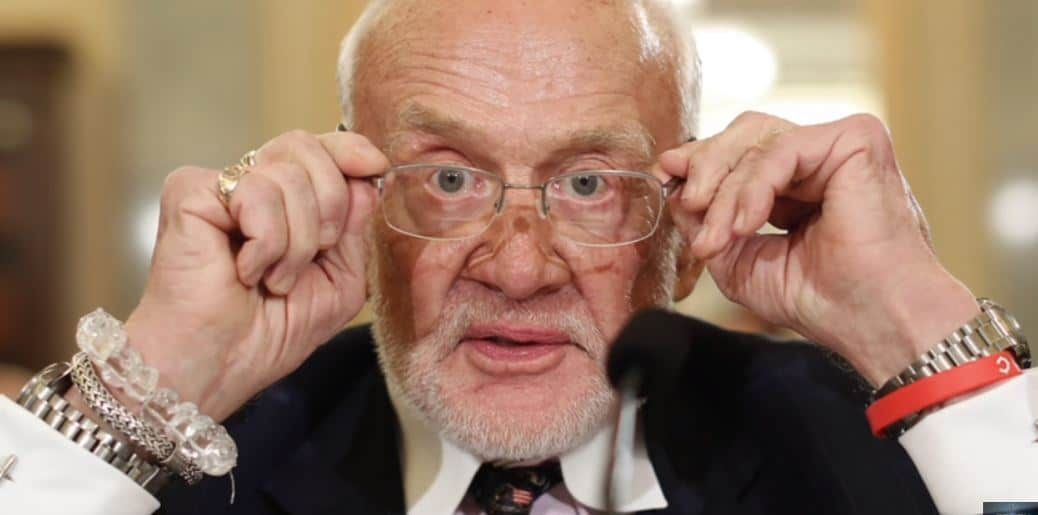 Buzz Aldrin Tweet: Moon Landing Was Fake