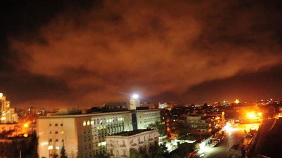 Syrian Envoy to UN says Trump Bombing of Syria Sends Message to Terrorists | Video Footage of Bombings