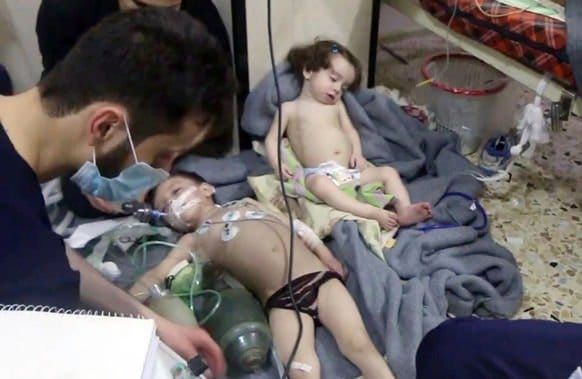 Russian Evidence of Staged Chemical Attack in Syria