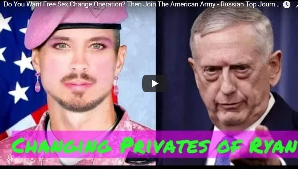 America Is 'Committing Suicide' By Allowing Transgenders in the Military