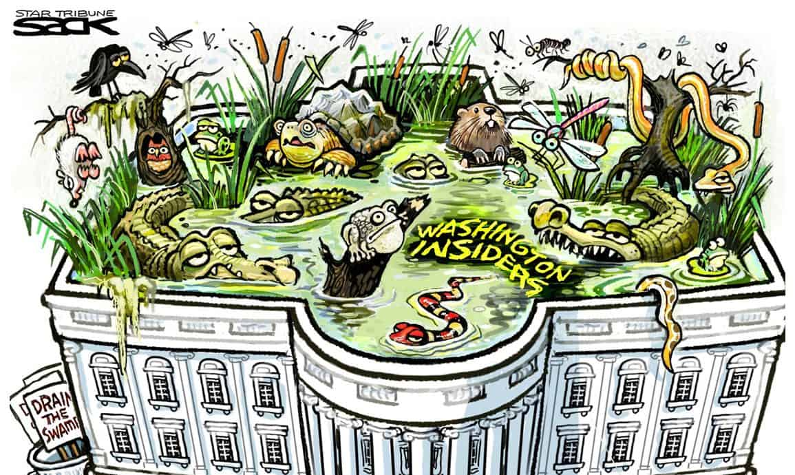 The Swamp Dirty Money and Backroom Deals