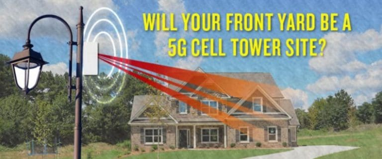 Dr. Naomi Wolf Posts on Social Media About 5G Small Cell Towers in NYC.