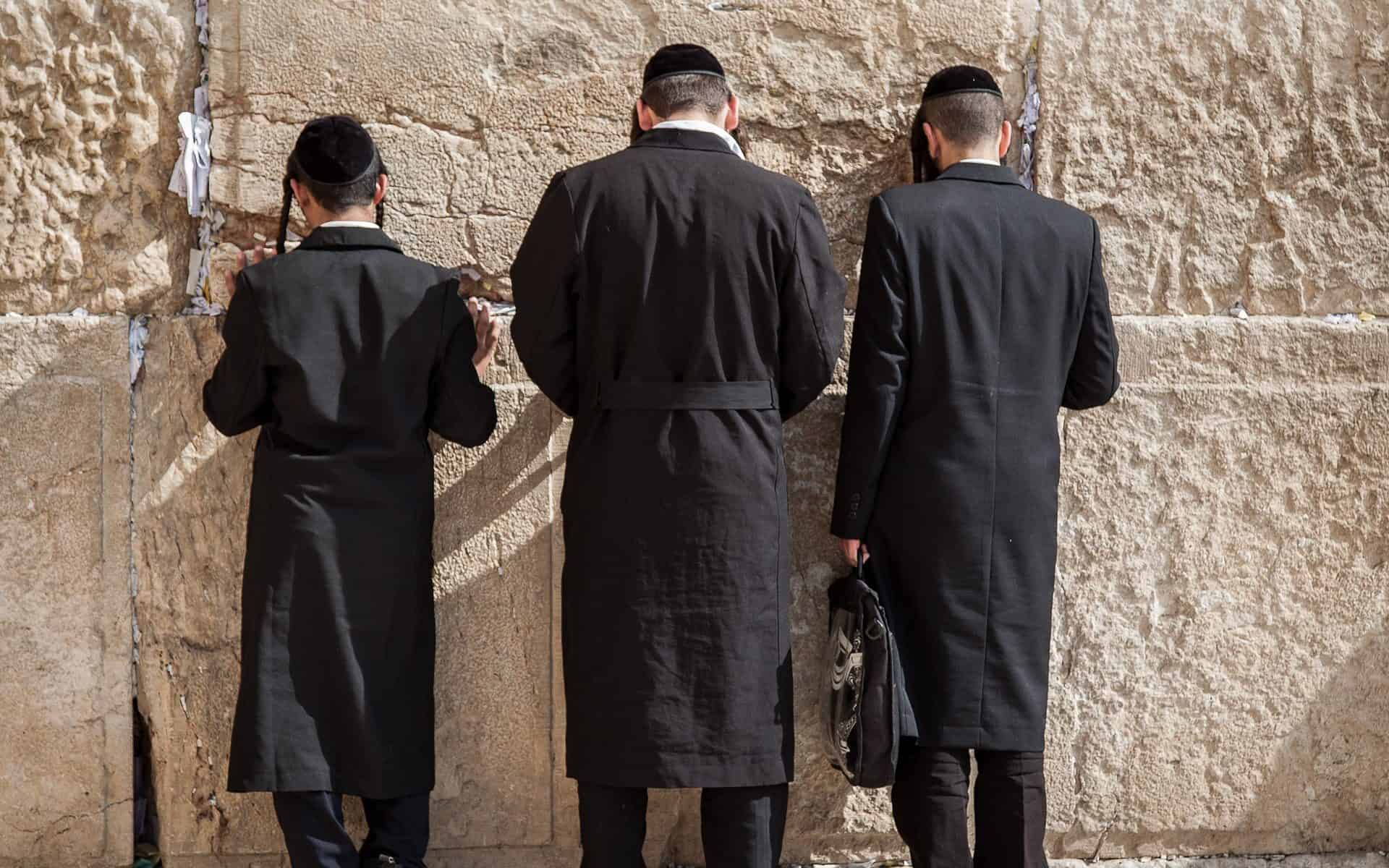 Davening: A Satanic, Perverted Practice at the Wailing Wall