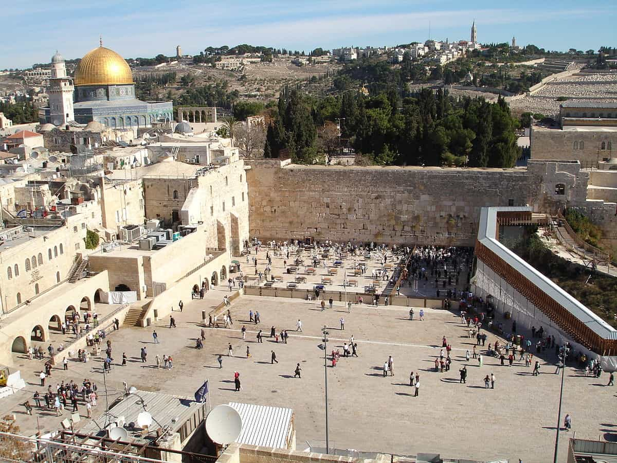 The Wailing Wall & Evidence for the Real Site of the Temple in Jerusalem