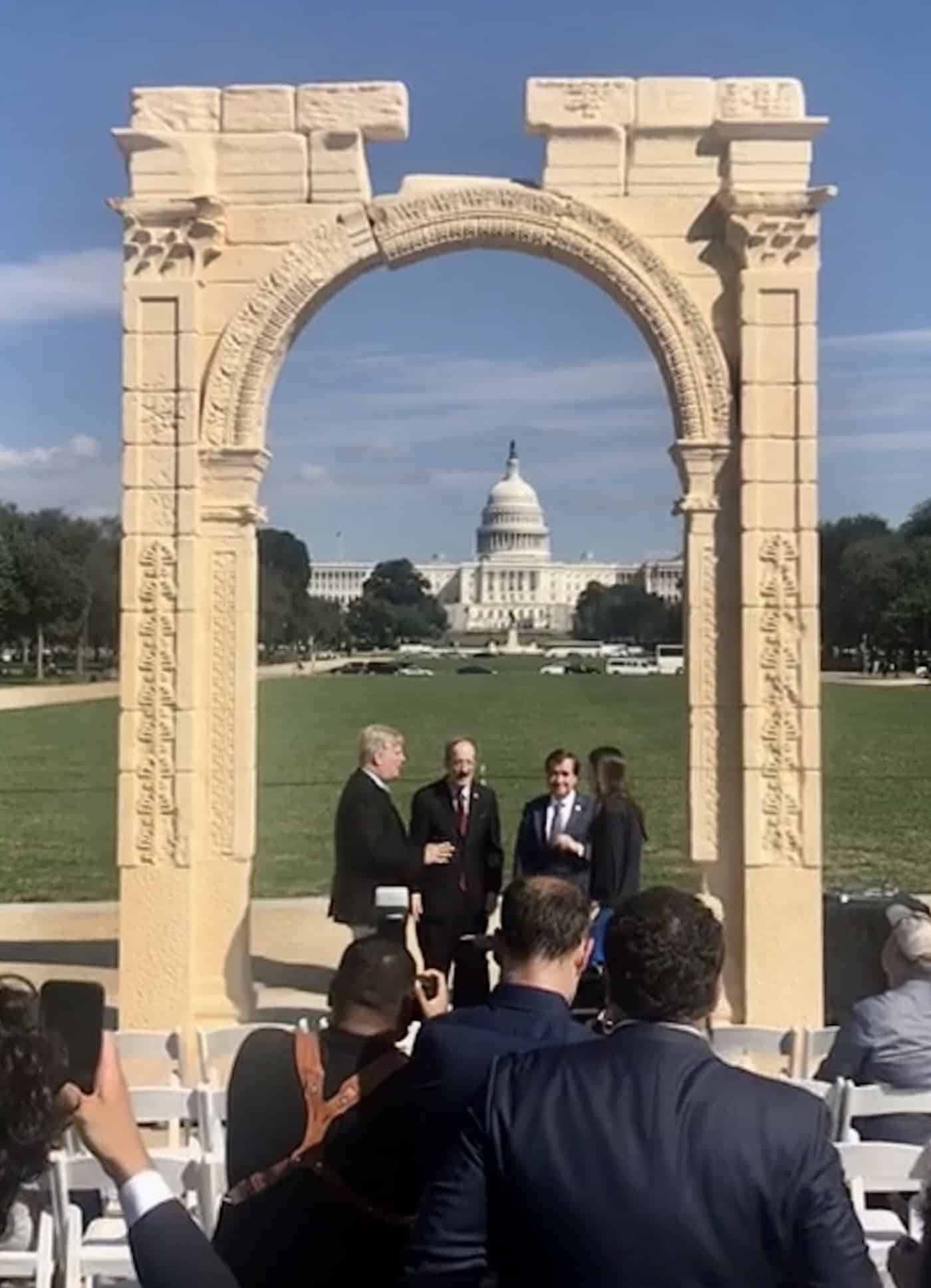 Let the Triumphal Procession Begin | The Arch at the US Capital