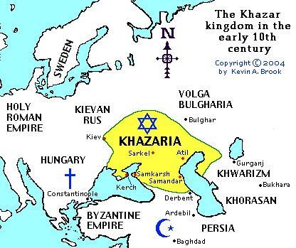 The Fraudulent Khazar Claim to Palestine
