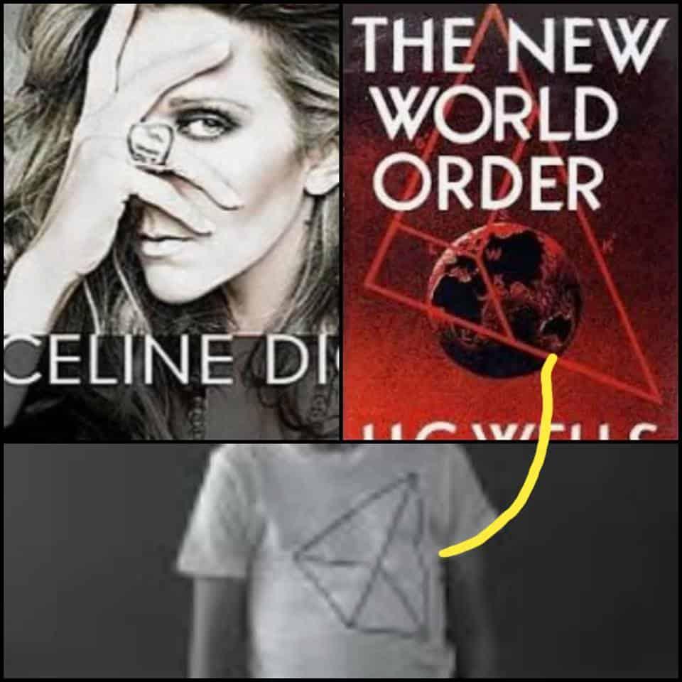 Celine Dion's Satanic Clothing Line
