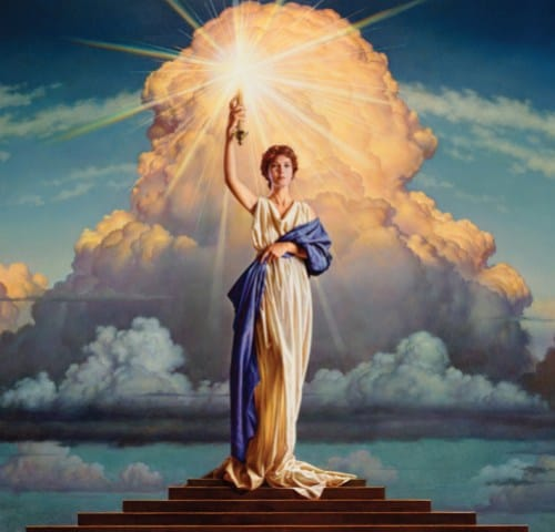 Columbia goddess Sirius torch