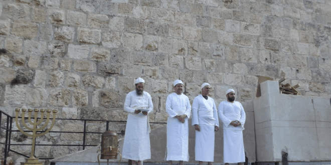 Sanhedrin Sacrifices Lamb at Hannukah Dedication of Temple Altar