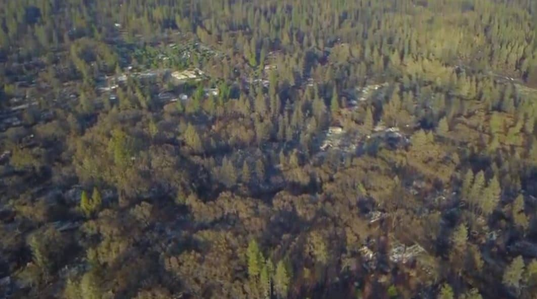 Revealing Private Drone Footage of Paradise Aftermath