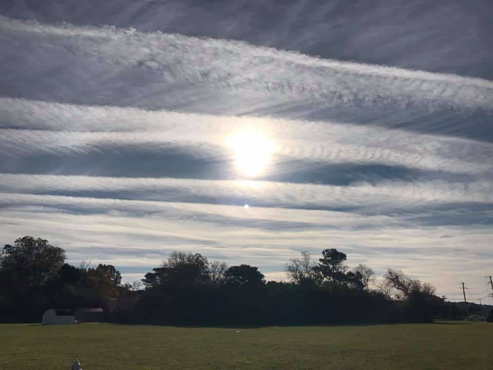 """Nothing to Worry About"" – FB Users Chronicle the Destruction of the Sky"