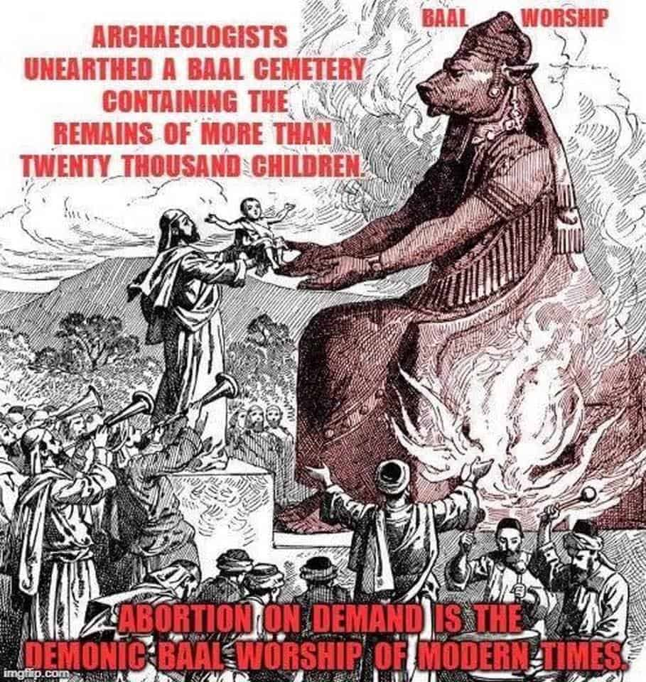 """Abortion: Paganism Masked as a """"Modern Medical Procedure"""""""