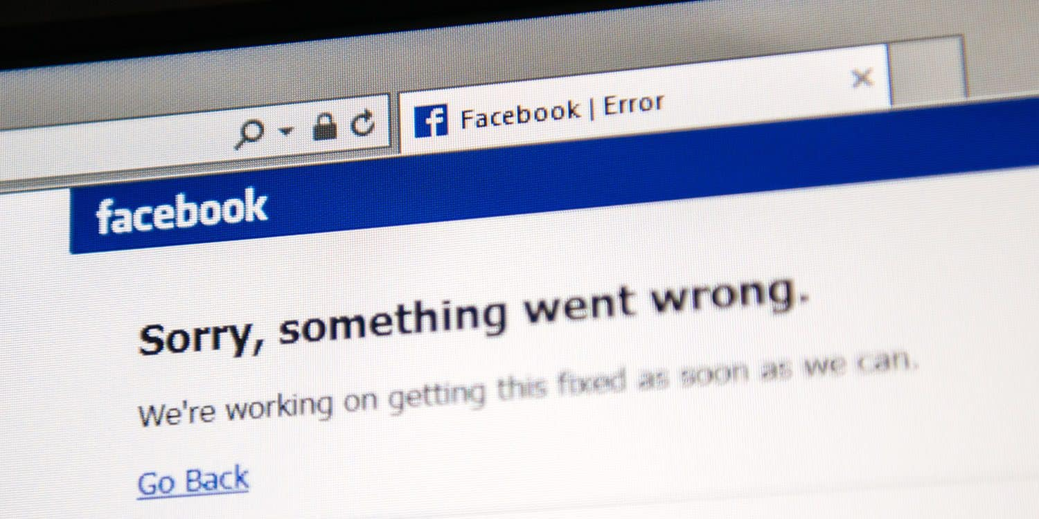 The Timing of Facebook's Outage