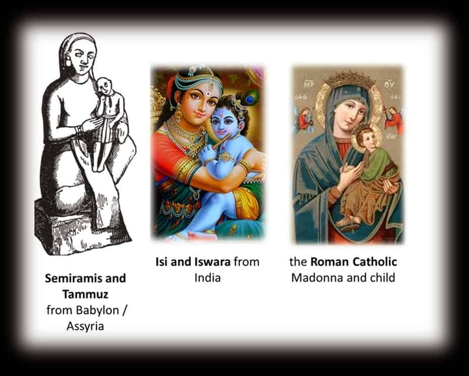 Christmas Originates in Babylonian Mother and Child Worship