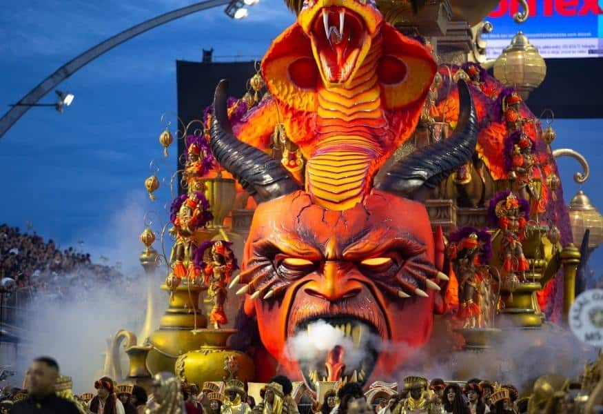 "Carnivals in Brazil: People Celebrate the ""Triumph"" of SATAN over Jesus"