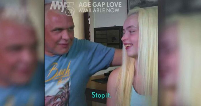 Age Gap Love  (inversion of AGAPE) Normalizing Pedophilia