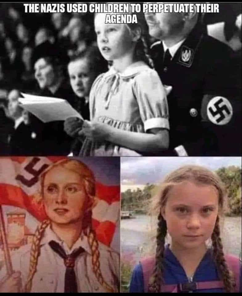Little Greta Thunberg in Her Great Big Role