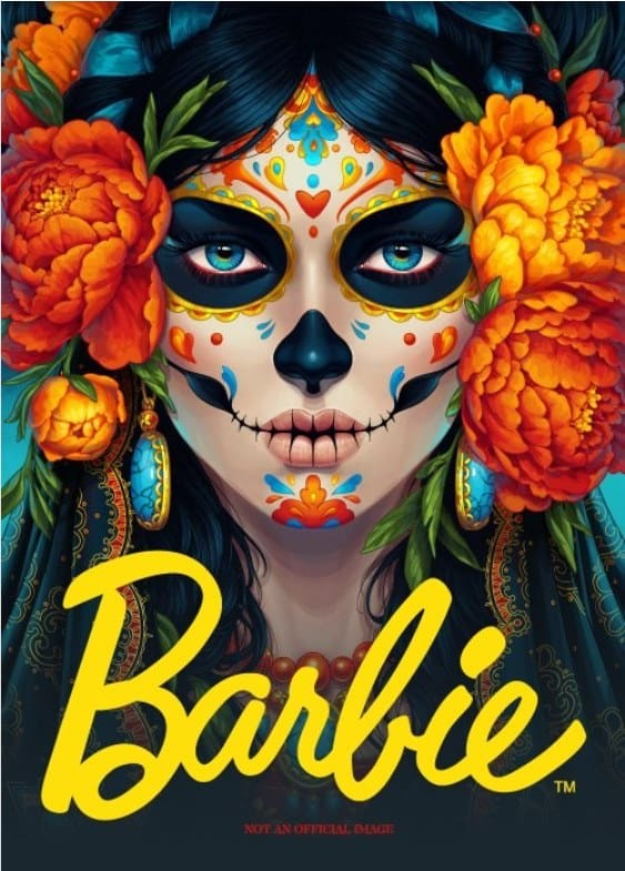 Day of the Dead Barbie: Just in time for the Red Heifer Sacrifice