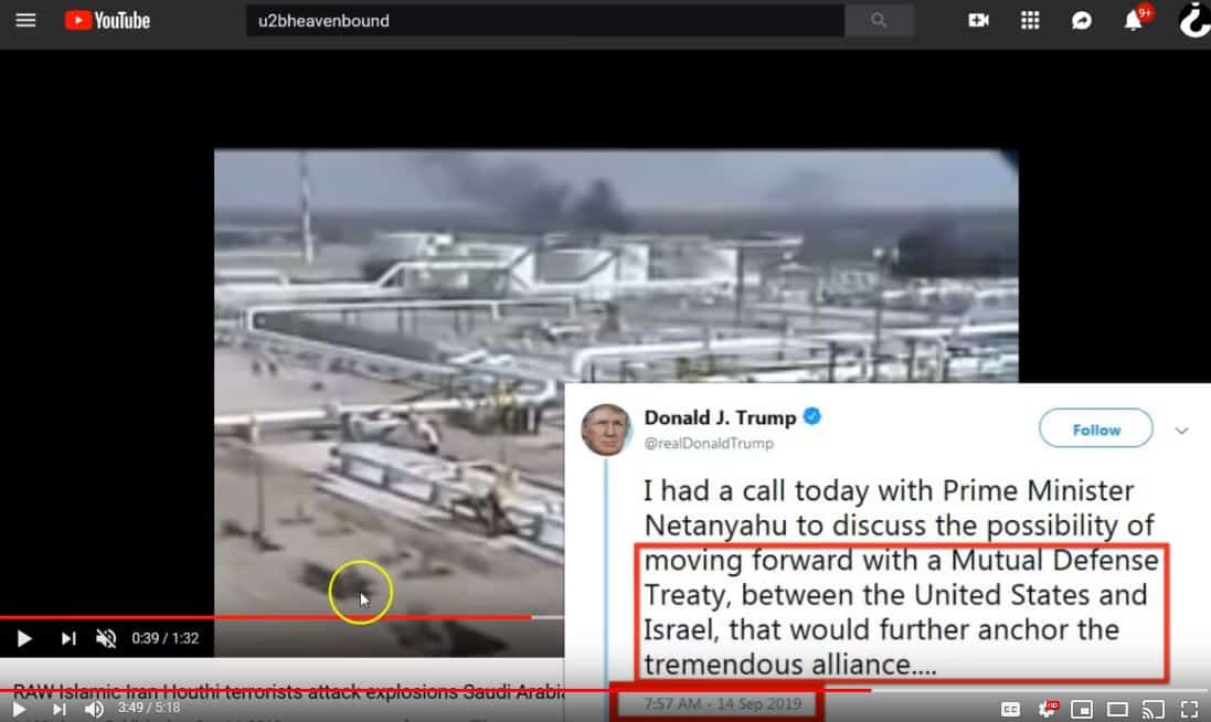Shenanigans! Saudi US Israel
