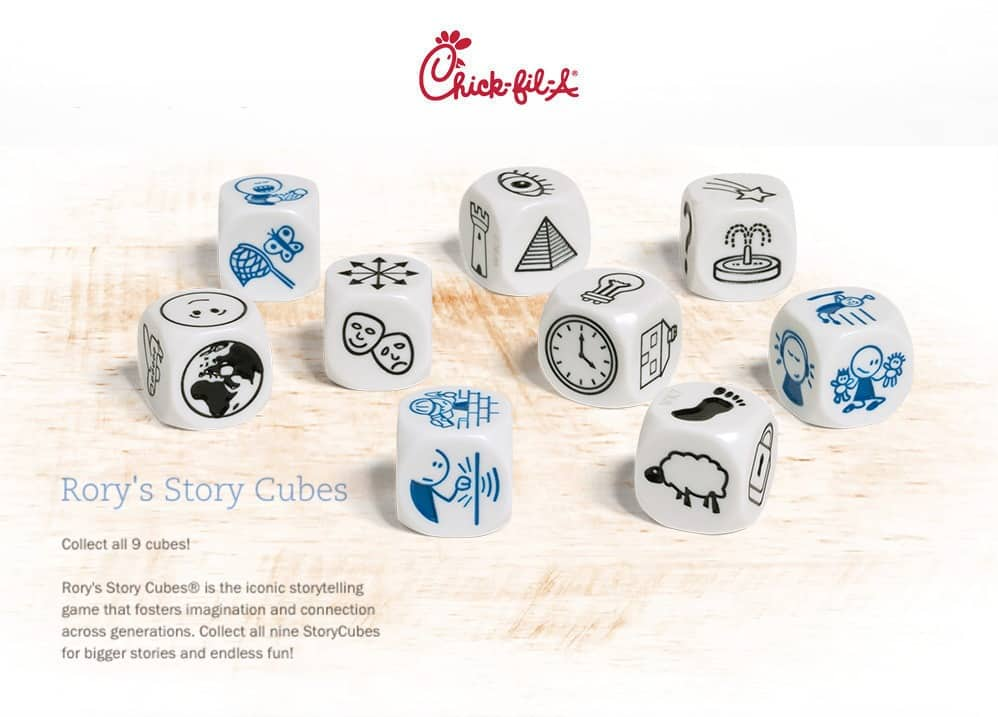 "Chic-fil-A ""Story Cubes"" Teaching Kids Divination"