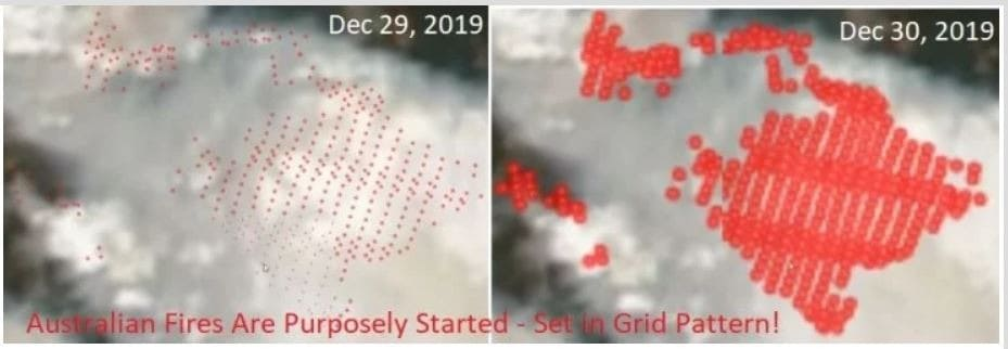 More Evidence that Australia Fires Were SET