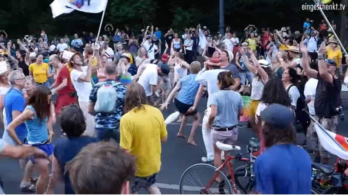 Berlin Coronavirus Protest – Das Ist Doch Gar Nicht War!