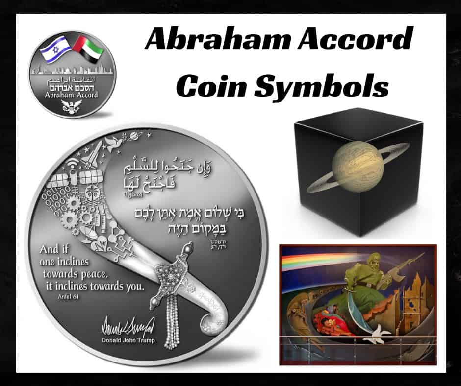 "Newly Issued ""Abraham Accord Peace Coin"" is Full of ""In Your Face"" Symbolism"