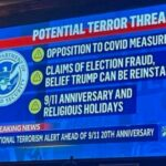 Homeland Security Bulletin: Those Who Oppose COVID Measures Are Potential Domestic Terrorist Threat